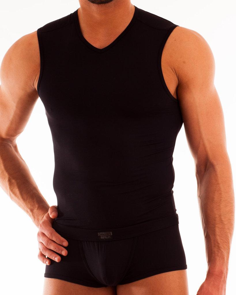Micro-Basic Docker Shirt schwarz