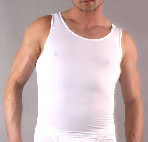 Micro-Basic Athletic Shirt white
