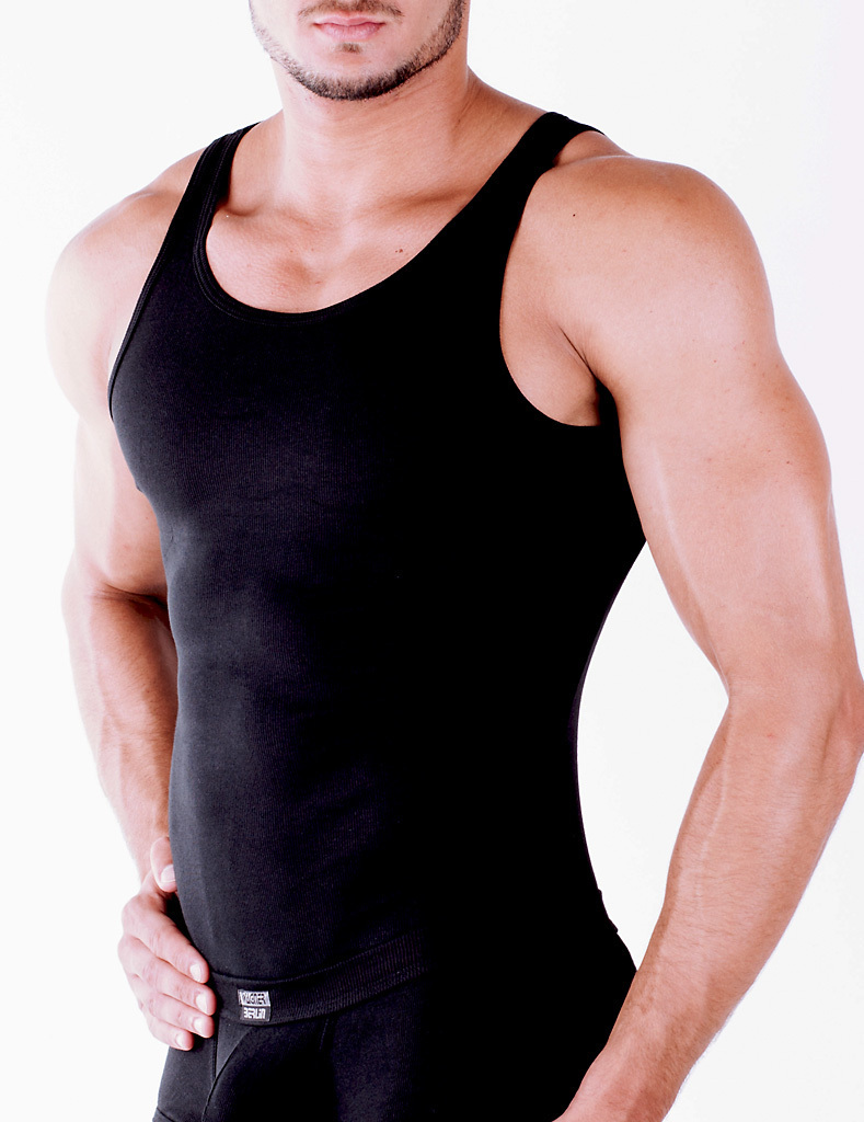 CottonRipp Athletic Shirt black