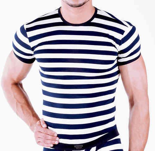 Matrosen Shirt marine-weiss
