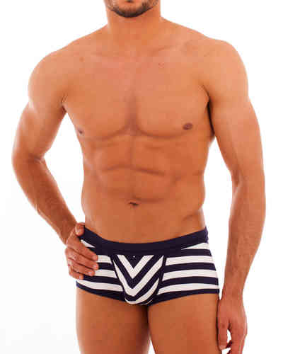 Swimwear sailor Action Pant navy-white