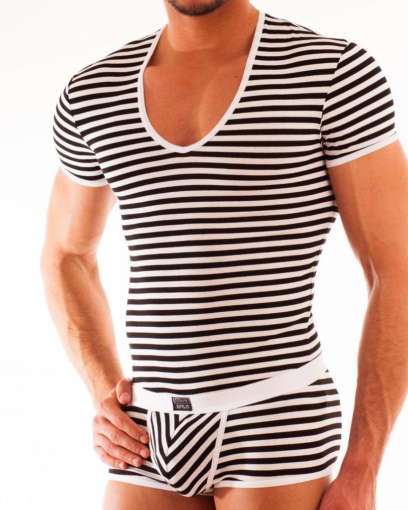 Stripes Shirt white-black