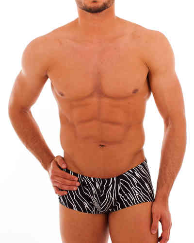 Swimwear Pant SP black-white