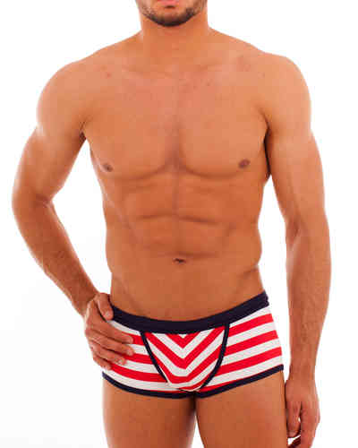 Swimwear Matrosen Action Pant red-white-blue