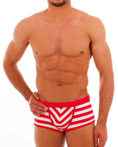 Swimwear Matrosen Action Pant red-white