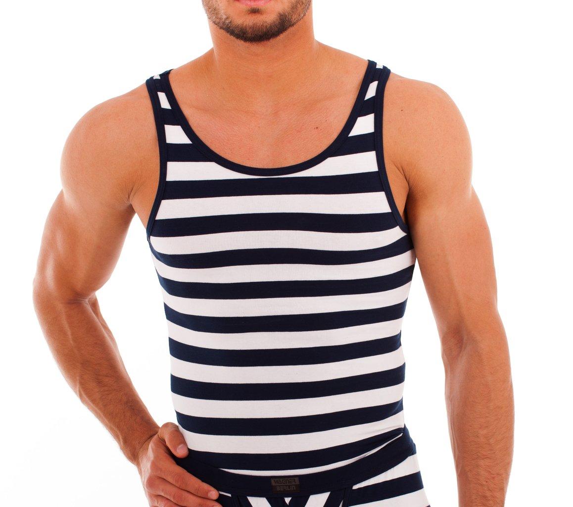 Matrosen Athletic Shirt marine-white