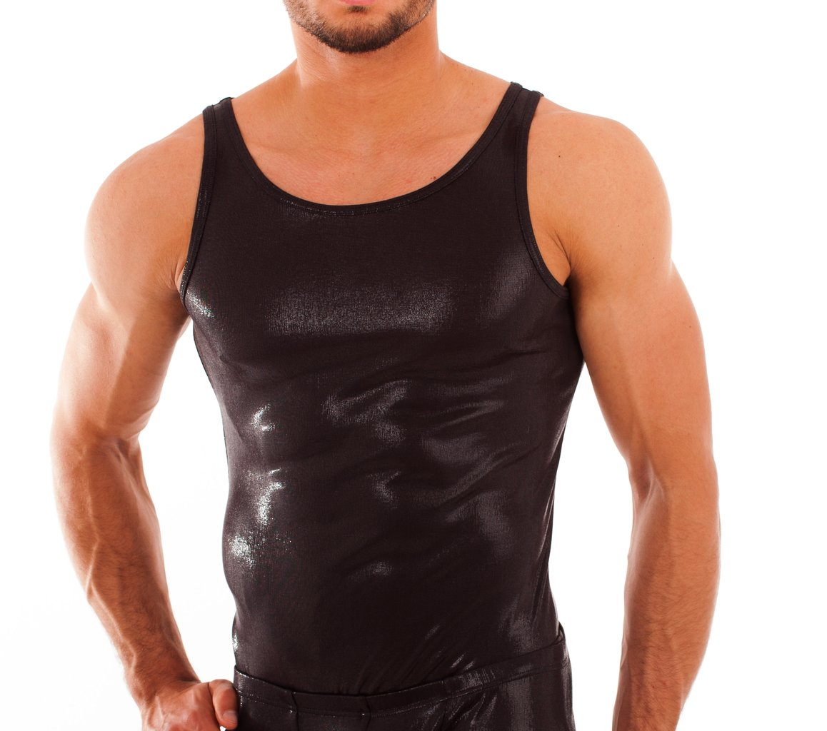 Laqué Athletic Shirt schwarz