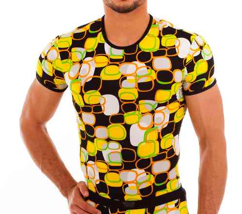 Kringel RN Shirt yellow-green-orange