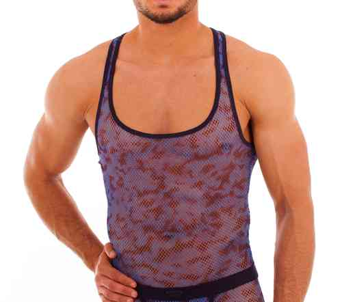 Batik-Net Muscle Shirt