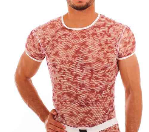 Batik-Netz Shirt