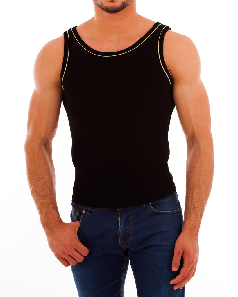 Paspel Athletic Shirt black-green