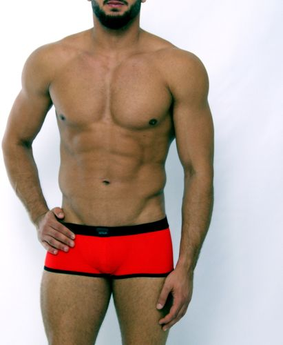 Micro-Basic Jock Pant red-black