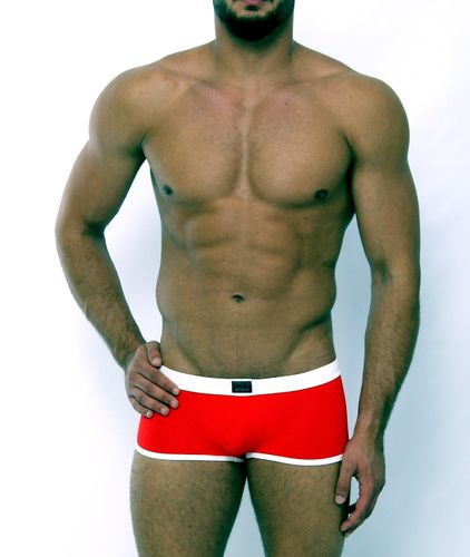 Micro-Basic Jock Pant red-white