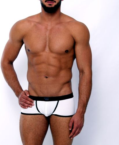 Micro-Basic Jock Pant white-black