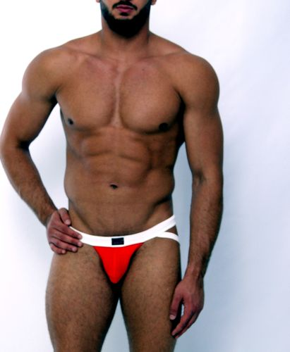 Micro-Basic Jock  red-white