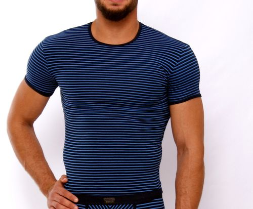 Stripes RH Shirt marine-blau